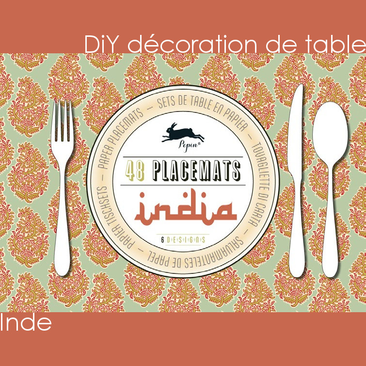 DiY déco de table – Inde